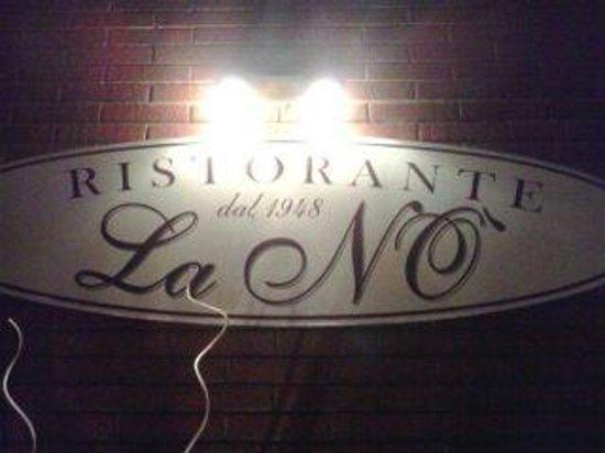 La No' : Bel e buon ristorante