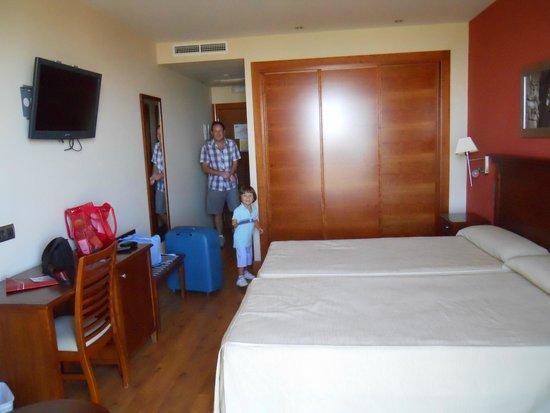 Hotel Campos de Baeza: Habitación