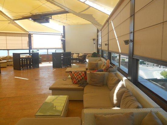 Hotel Campos de Baeza: Terraza