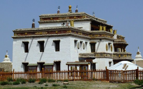 Erdene Zuu Monastery: Temple
