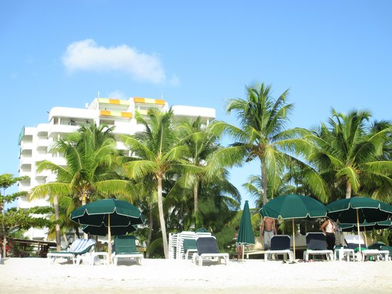 Atrium Beach Resort and Spa : View from the beach