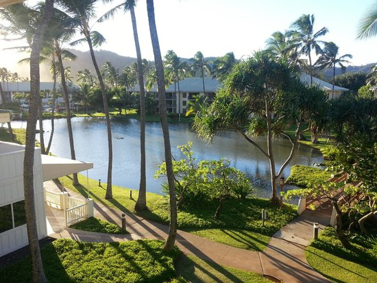 Lagoon view from our room picture of kauai beach resort for Best boutique hotels kauai