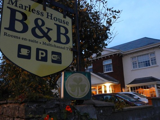 Marless House Bed & Breakfast : from the street