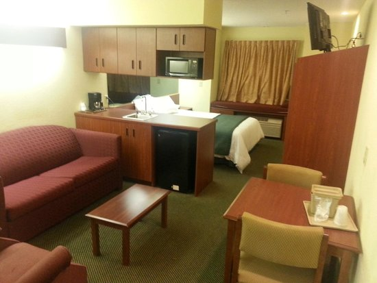 "Microtel Inn & Suites by Wyndham Thomasville/High Point/Lexi: One Queen Bedroom Suite with New 32"" LG Flat Screen TV"