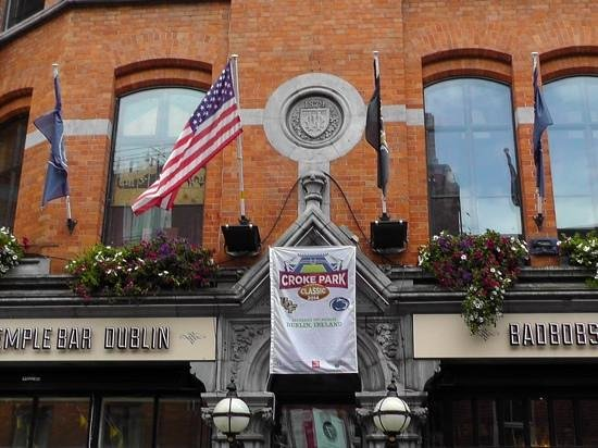 Bad Bobs Temple Bar: Great hosts for the PSU / UCF game!