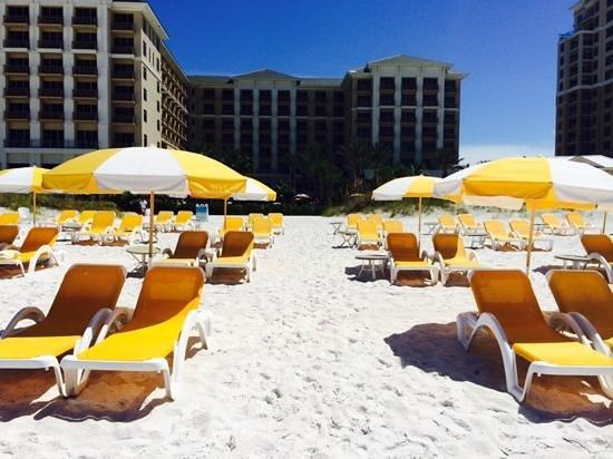 Sandpearl Resort Beach Chairs