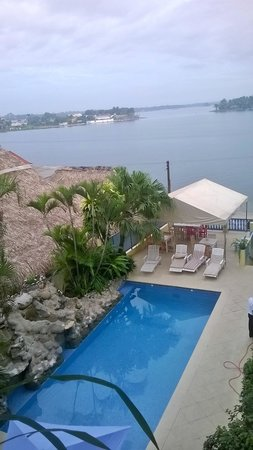Hotel Casona de la Isla: vista desde el balcon
