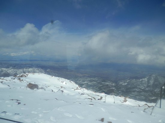 Pikes Peak: One of the views from the top of Pike's Peak
