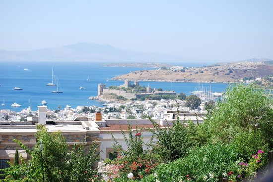 The Marmara, Bodrum : Our view from the room