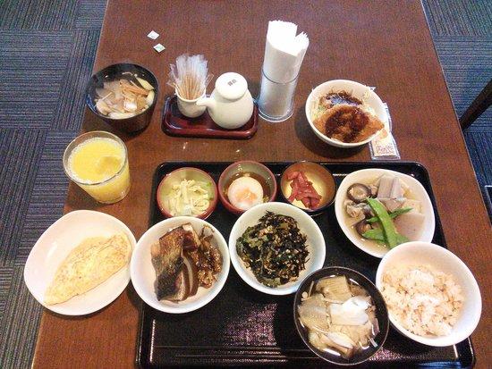 Dormy Inn Kanazawa : 朝食