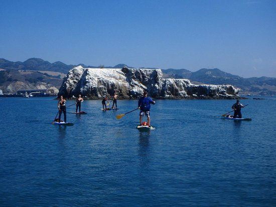 Avila Beach Paddlesports: Passing Smith Island