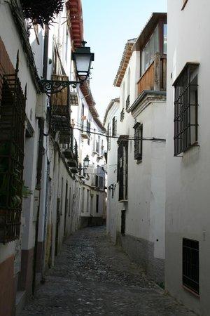 Albayzin : Narrow street