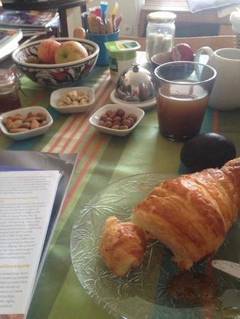 Les Toits du Marais : Breakfast