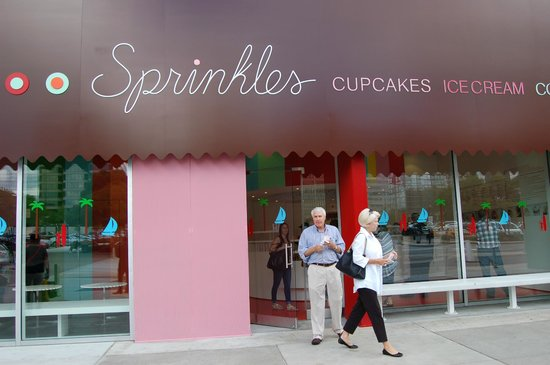 Sprinkles Cupcakes and Ice Cream