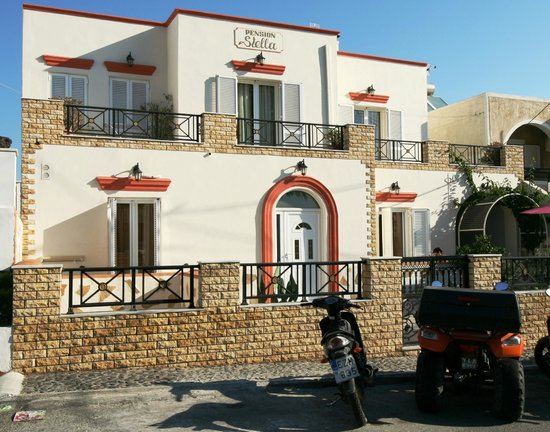 Pension Stella : front hotel