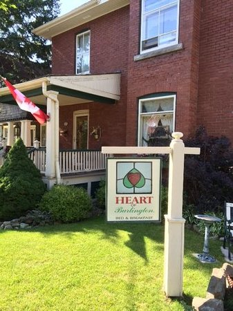 Heart Of Burlington Bed and Breakfast: Heart of Burlington