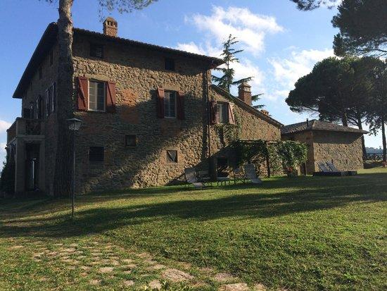 Tenuta di Casa Bruciata: View of Casa Bruciata taken by la Studentessa Matta