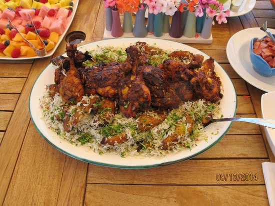 Red Reflet Ranch: Caribbean chicken with plantain rice