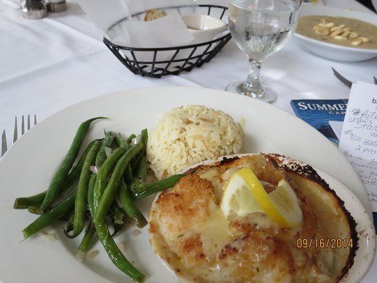 Yarmouth Port, MA: The Baked Seafood Trio
