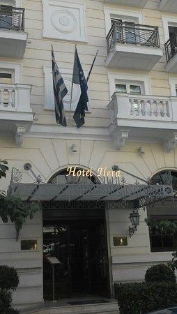 Hera Hotel : frente del hotel