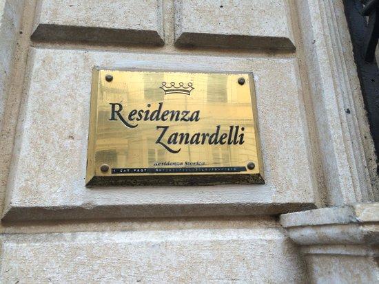 Foto taken by la Studentessa Matta outside of Residenza Zanardelli
