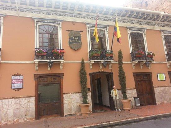Hotel Boutique Santa Lucia: Front of Hotel Santa Lucia