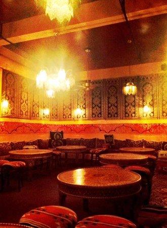 The decor at Ali Baba