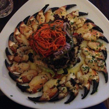 Ashe's Seafood Restaurant & Bar: Ballydavid Crab Claws