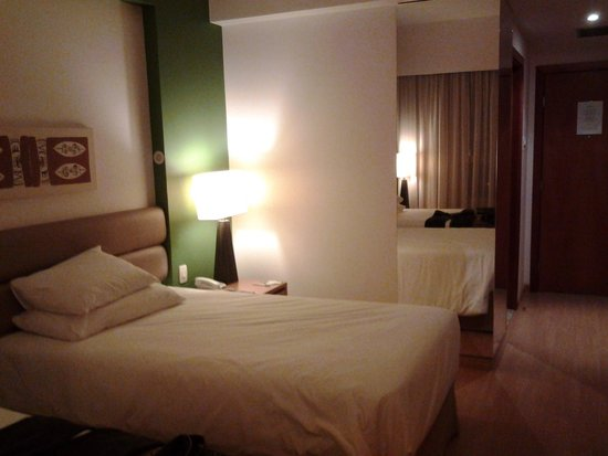 Caesar Business Manaus: Vista da cama
