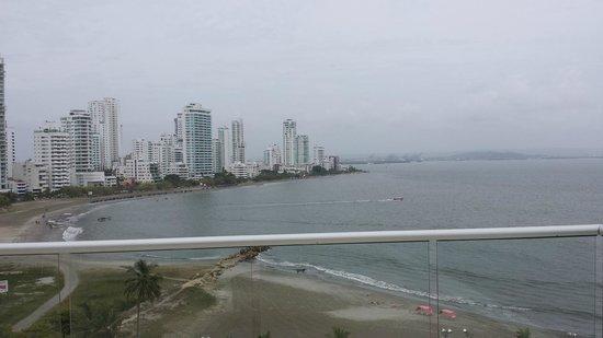 هيلتون قرطاجنة: Balcony View