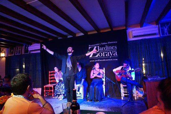 Jardines de Zoraya: great dancer