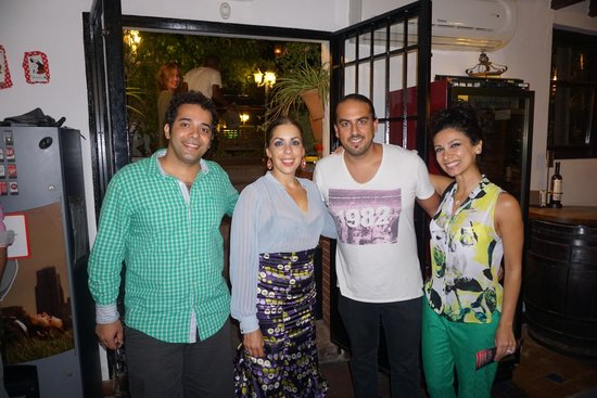 Jardines de Zoraya: with Flamenco band