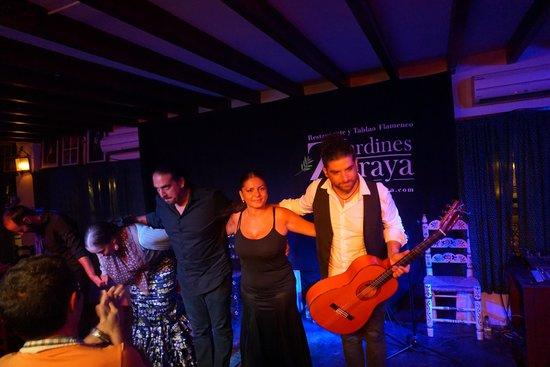 Jardines de Zoraya: Flamenco band