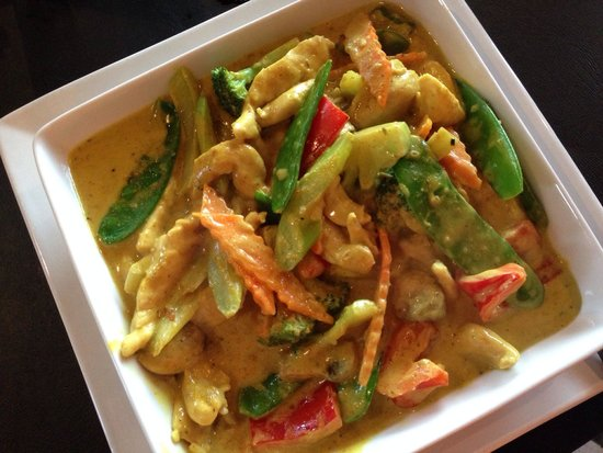 New Asia Authentic-Asian Cuisine : Curry chicken