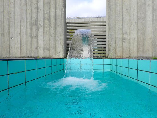 Laugarvatn Fontana Geothermal Baths: A view from the sauna