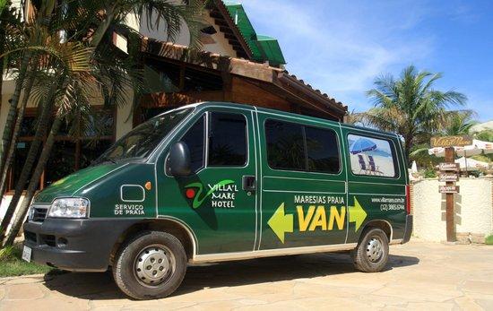 Villa'l Mare Hotel: Traslado para Praia - Temporada e Feriados