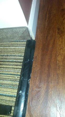 Residence Inn Buffalo Amherst: Duct tape threshold