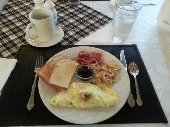 Sandes of Time Bed & Breakfast : Another perfect breakfast!