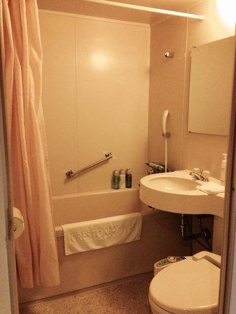 Chofu Creston Hotel: バスルーム