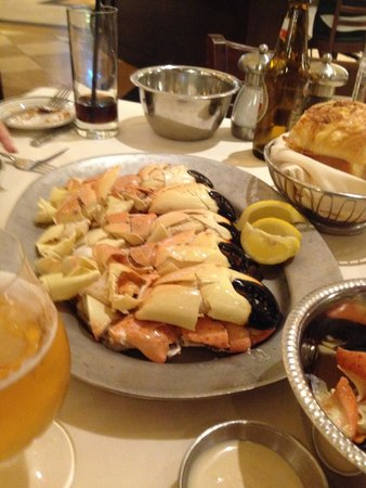 Joe's Seafood, Prime Steak & Stone Crab: king crab, 3 porções!!