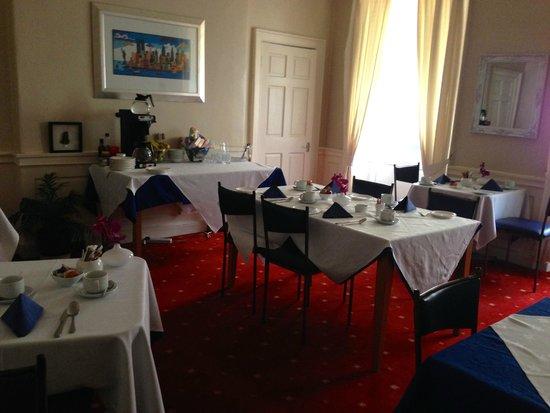 Edinburgh Central Guest House : Breakfast room