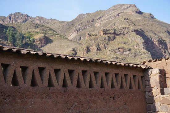 Pisac Inca Guest House: View from the courtyard