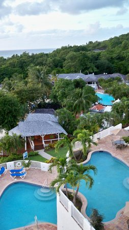 Windjammer Landing Villa Beach Resort: A few of the swimming pools
