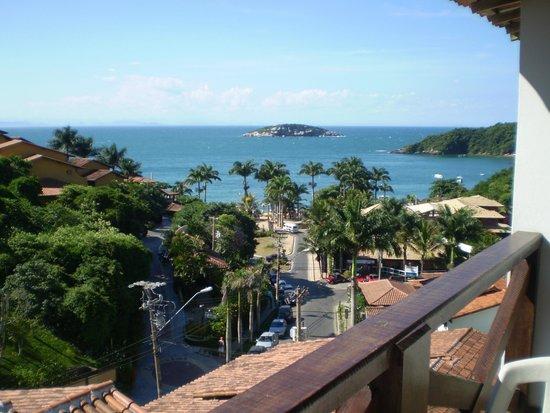 Hotel Ilha Branca Inn : Vista a playa Joao Fernandez
