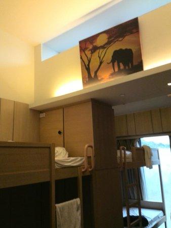 Noah's Ark Resort: Inside our room 4-bed type.