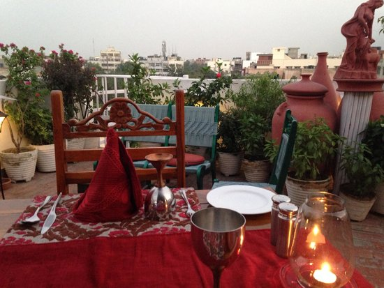 Shanti Home: View from a restaurant table