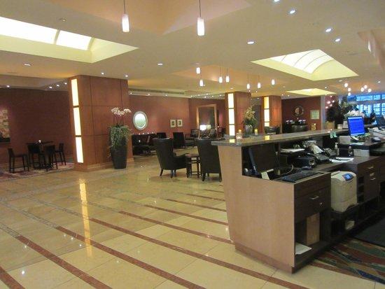 San Jose Marriott: Lobby