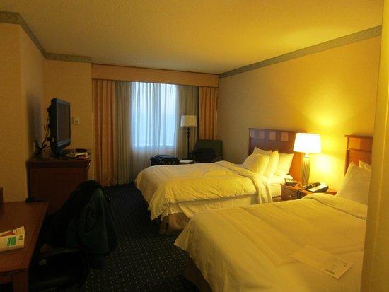 San Jose Marriott: Double room