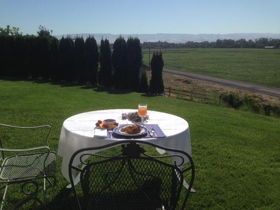 A Room With a View: Delicious breakfast after a morning run