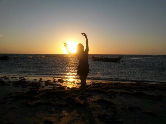 Jeri Brasil Hostel: Por do Sol
